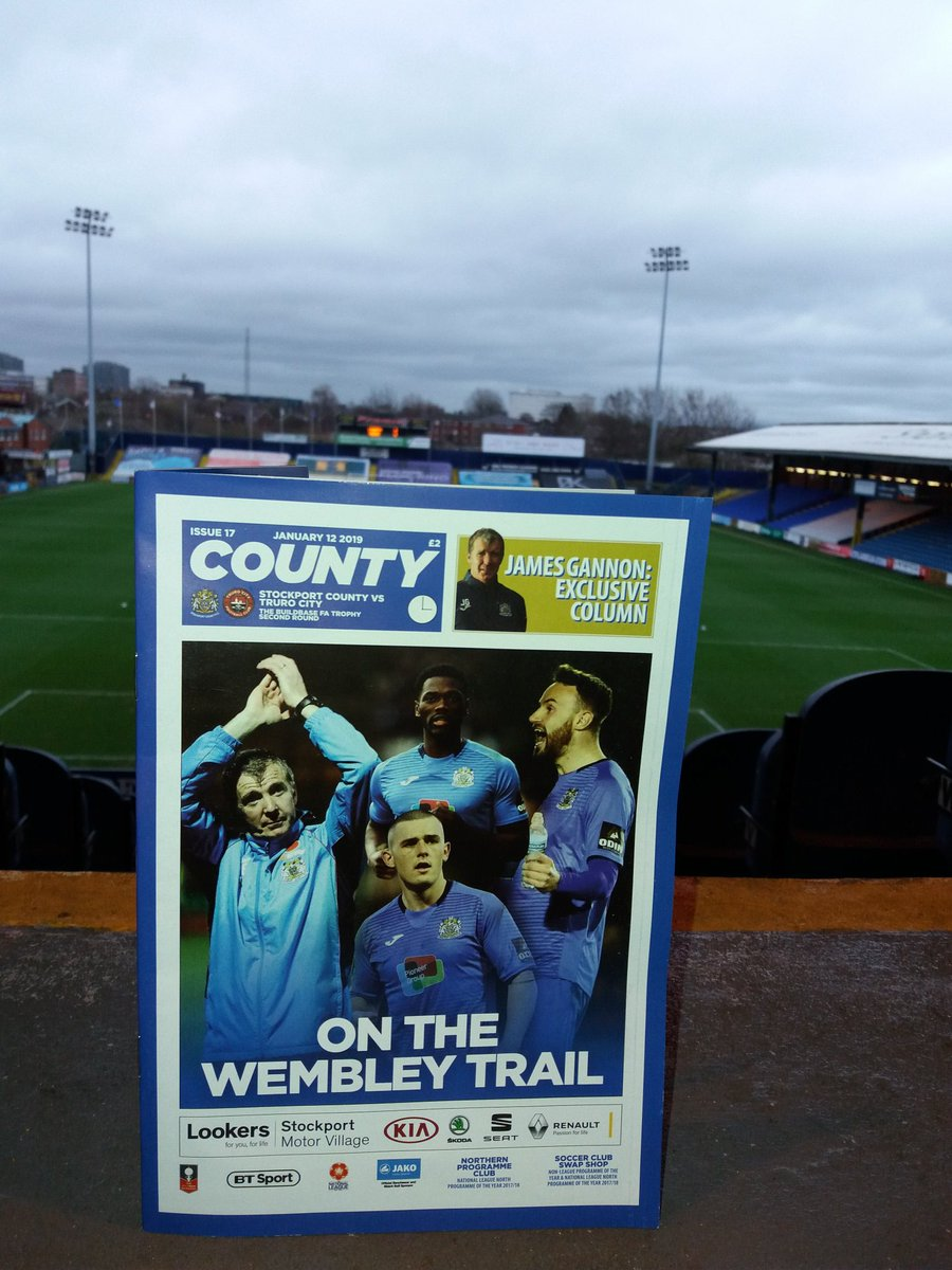 Stockport County 🎩's photo on MATCH DAY