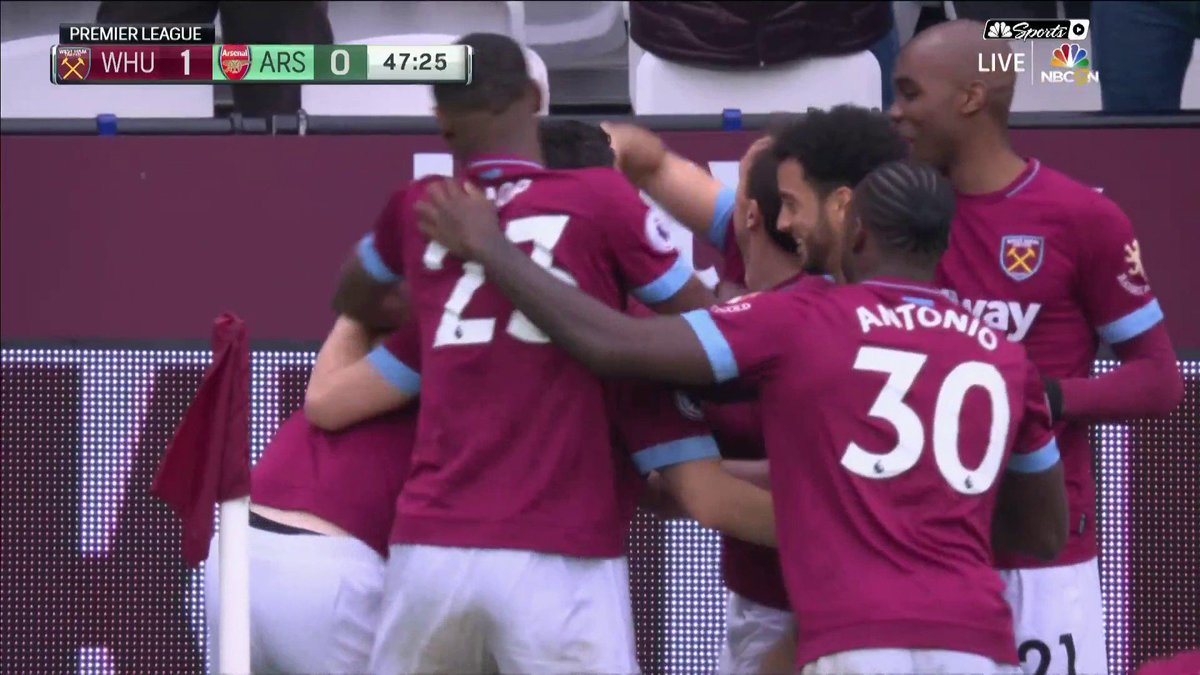NBC Sports Soccer's photo on Hammers