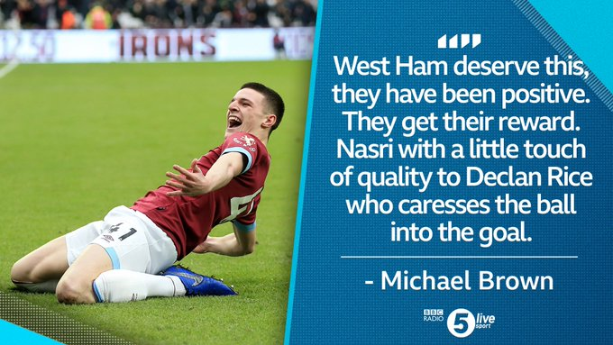 ⚽ First ever senior goal 📝 New contract 🎂 Turns 20 on Monday Life is good for Declan Rice right now! 🎧⚽ ⚒️ #WHUARS 🔴⚪ Photo