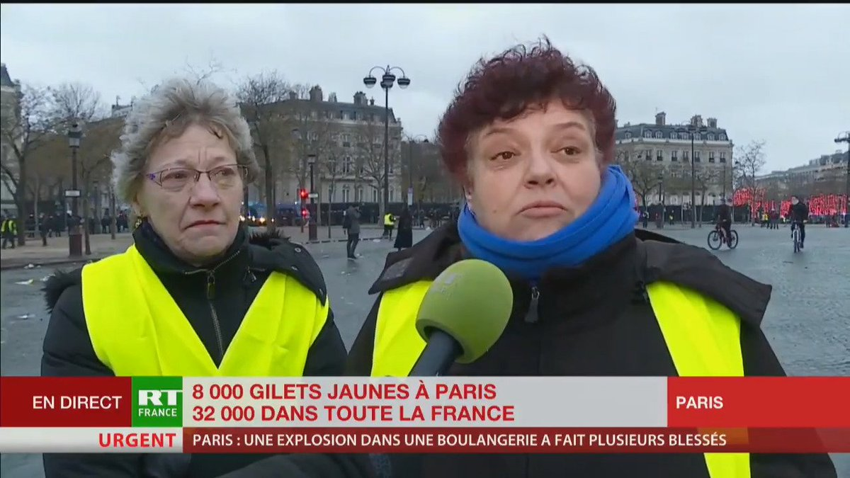 RT France's photo on París