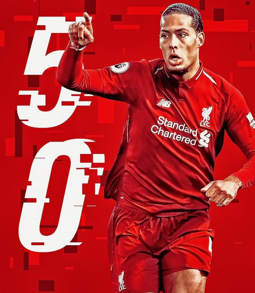 #YNWA ... 50 matches to this #wall with @LFC ❤️  @VirgilvDijk 🥰❤️💪🏻