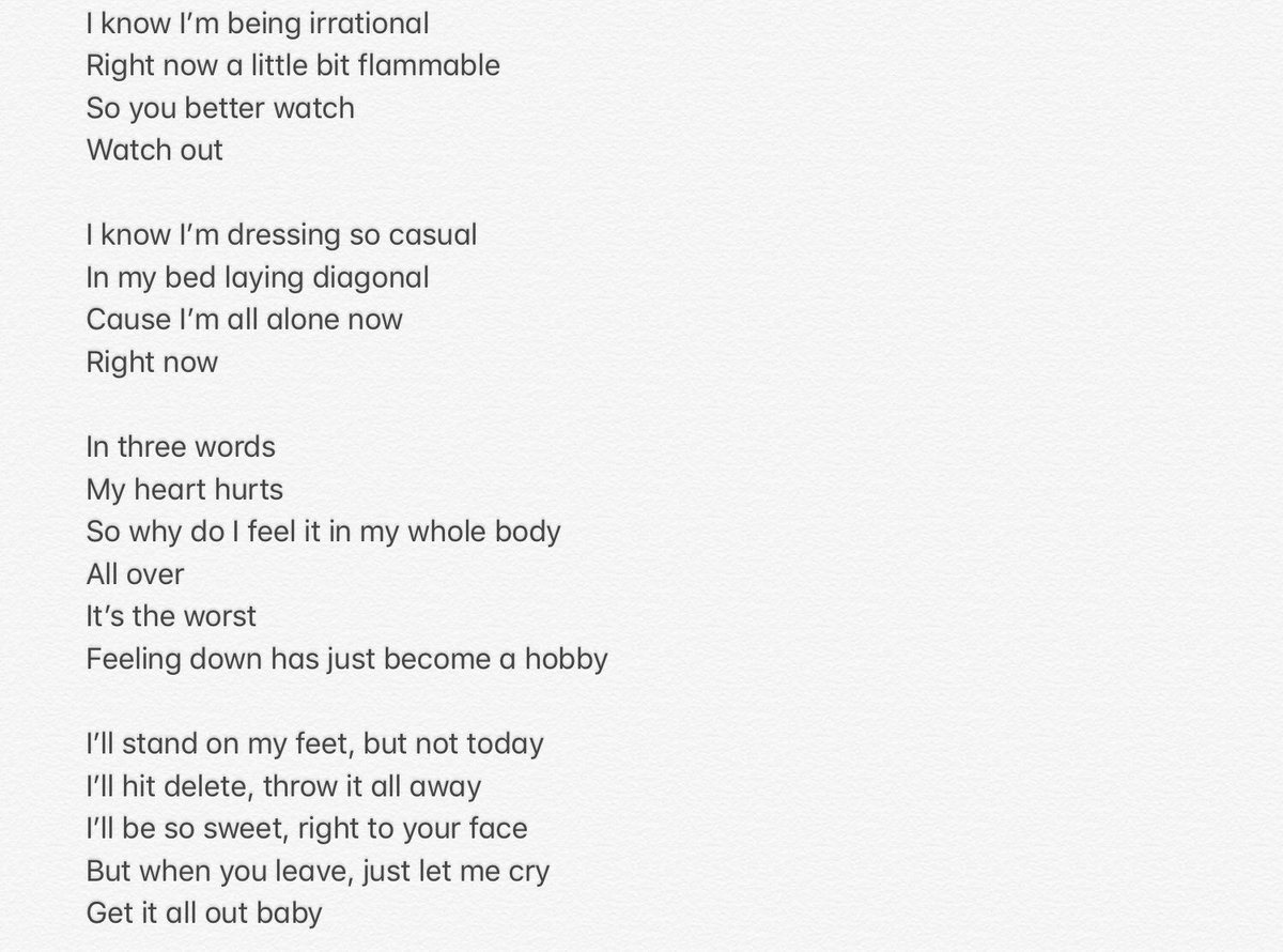 By the way, here are the lyrics 😢 #LetMeCry