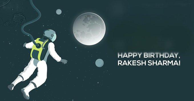 Happy Birthday Rakesh Sharma Ji.
