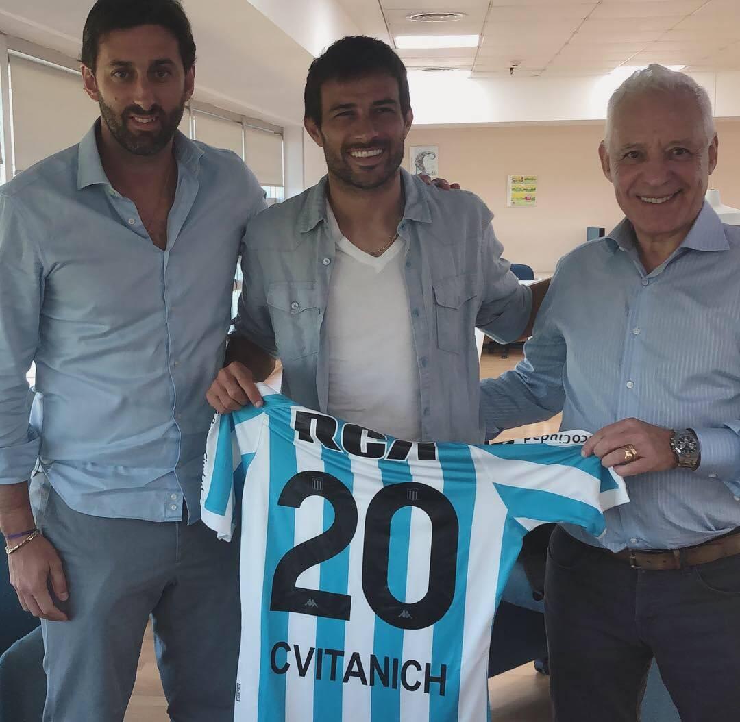 Planeta Racing Club's photo on Darío Cvitanich