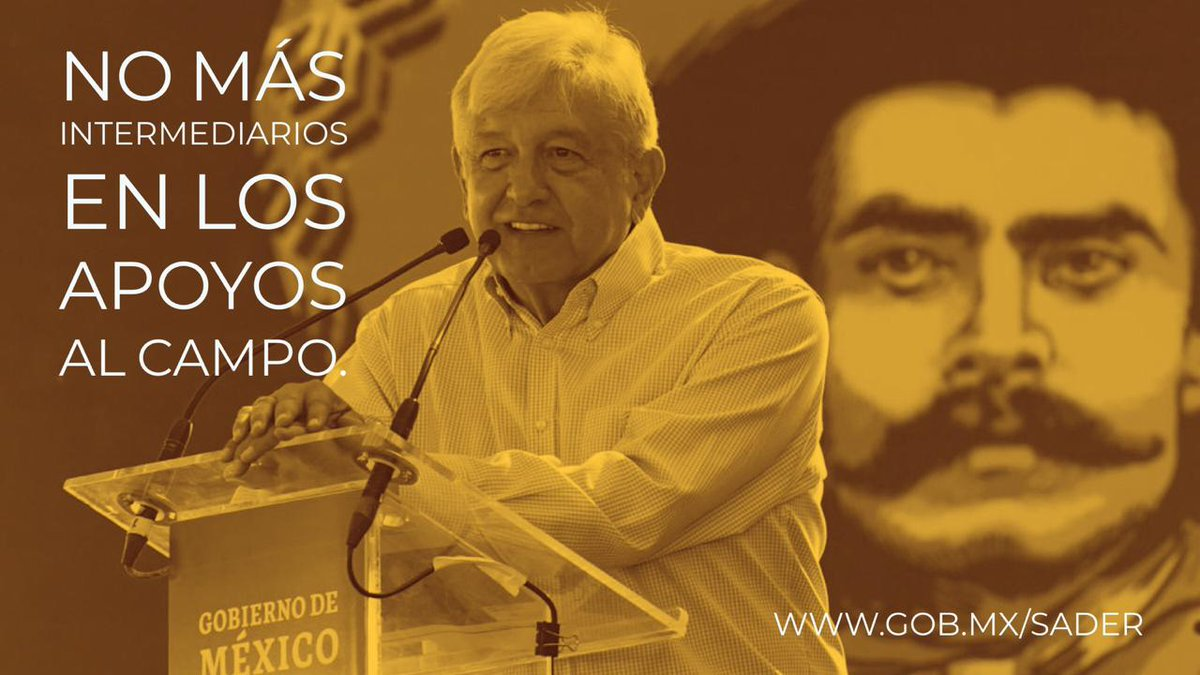 SADER's photo on Emiliano Zapata Salazar