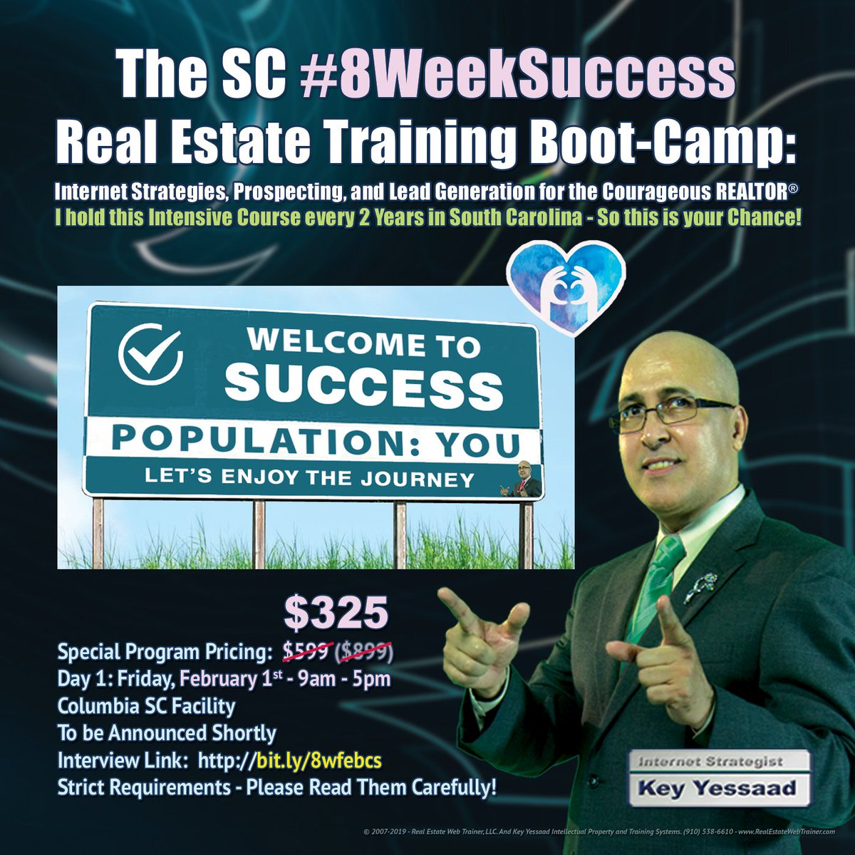 ... Inquire about the #8WeekSuccess Course here:  https://t.co/5iuEGC7ME2 -  #RealEstateProspecting #RealEstateTraining #RealEstateCoaching  #RealEstateListings #RealEstateLeads #RealEstateMarketing #RealEstateSEO  #RealEstateSuccess