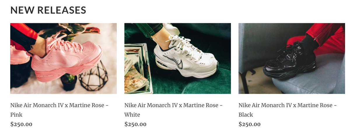 3f783a9aa2d sneakerpolitics has the Nike x Martine Rose collection available now -   https   sneakerpolitics.com collections new pic.twitter.com j9zD6ytx9E