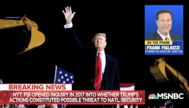 .@FrankFigliuzzi1: To hear this report if accurate say that the FBI actually opened a case on #DonaldJTrump is really like hitting the American people in the gut... I am virtually certain that more evidence than just the public behavior of the president is involved in this #AMJoy <br>http://pic.twitter.com/qV8oHUfJO7