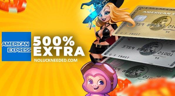 NoLuckNeeded.com's photo on Amex