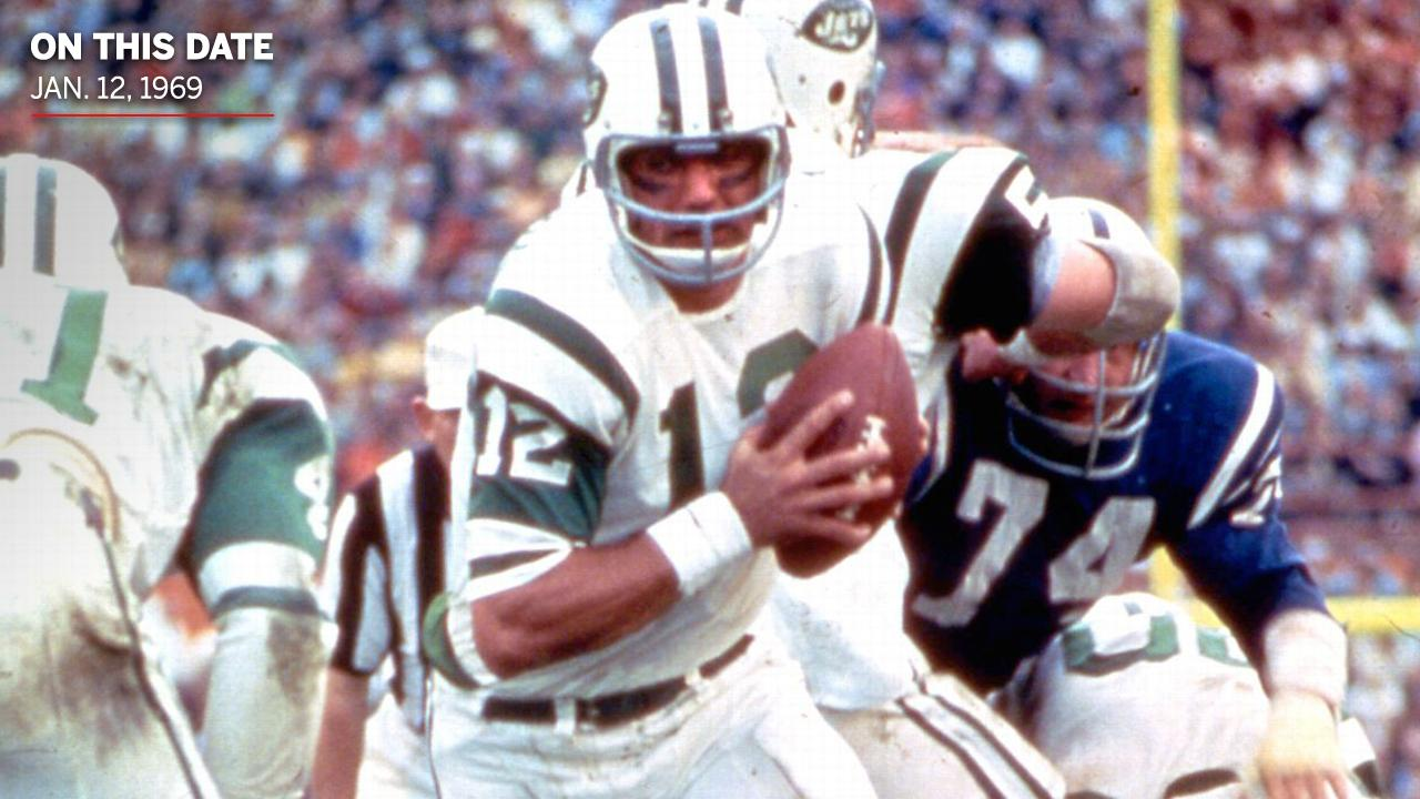 On This Date: Joe Namath fulfilled his guarantee of a win in Super Bowl III �� https://t.co/syqHR455zT