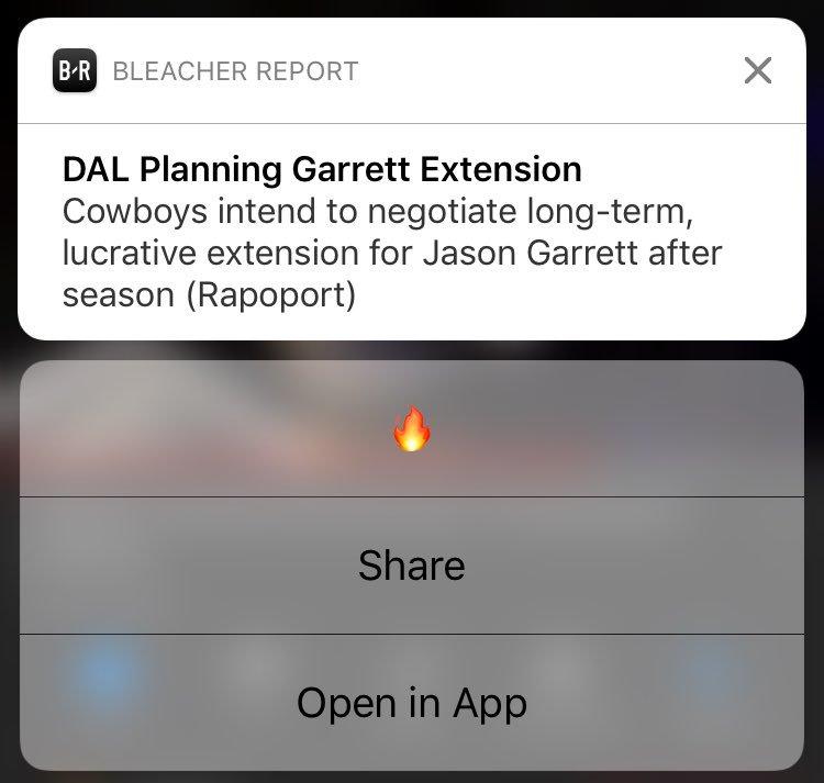 Worst news I've ever gotten.