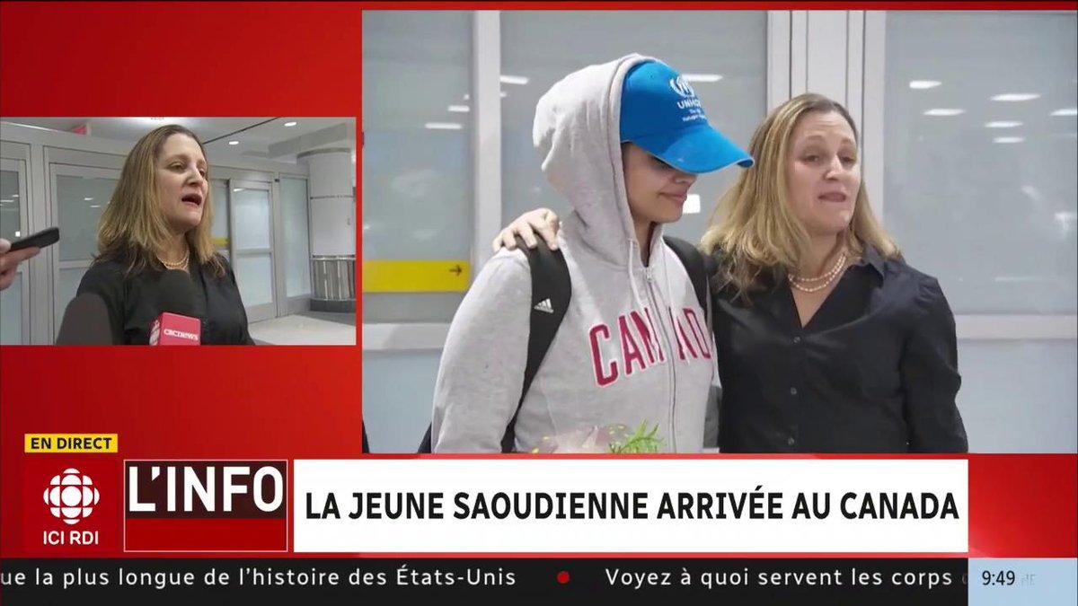 Radio-Canada Info's photo on Rahaf