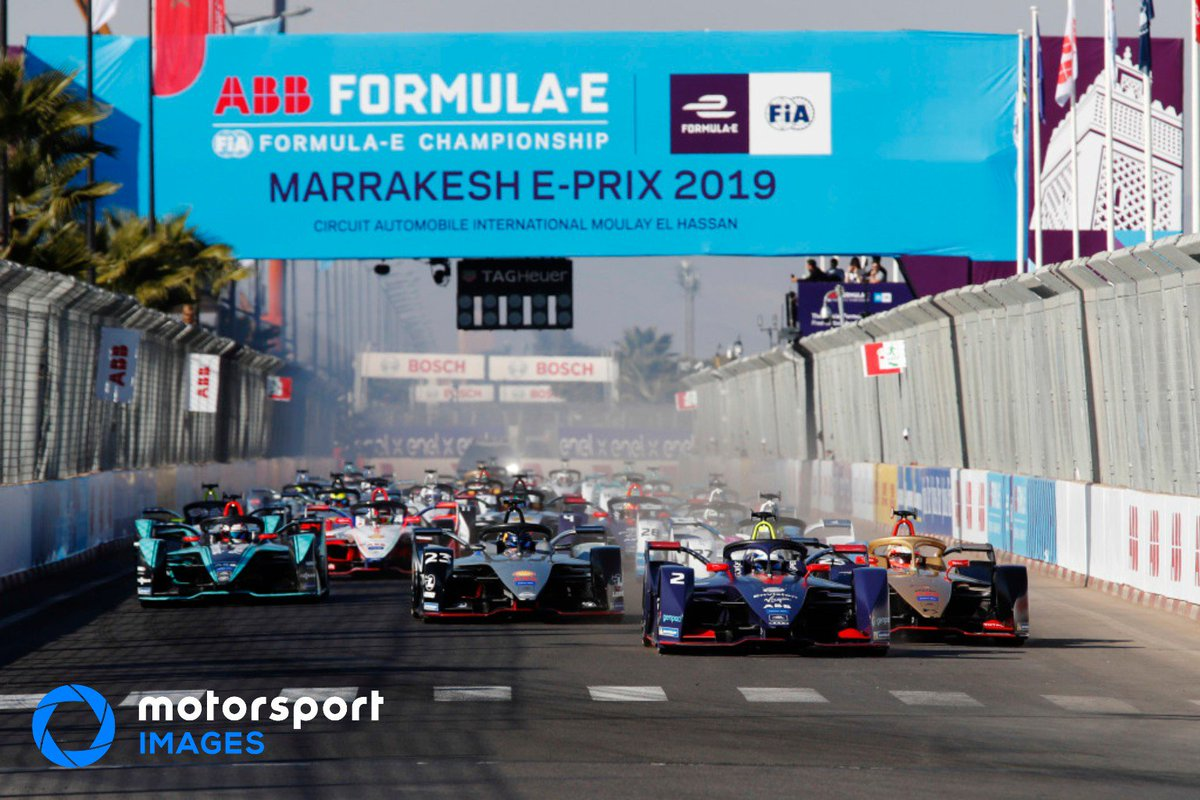 Motorsport Images's photo on #MarrakeshEPrix