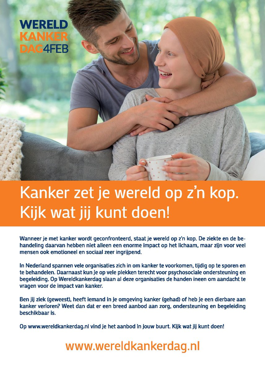 dating iemand met kanker