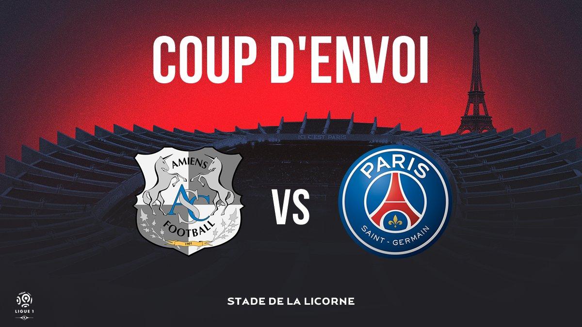 C'est parti au Stade de la Licorne pour ce #ASCPSG ! ⚡️  🔴🔵 #AllezParis https://t.co/FBfvIPkIn9