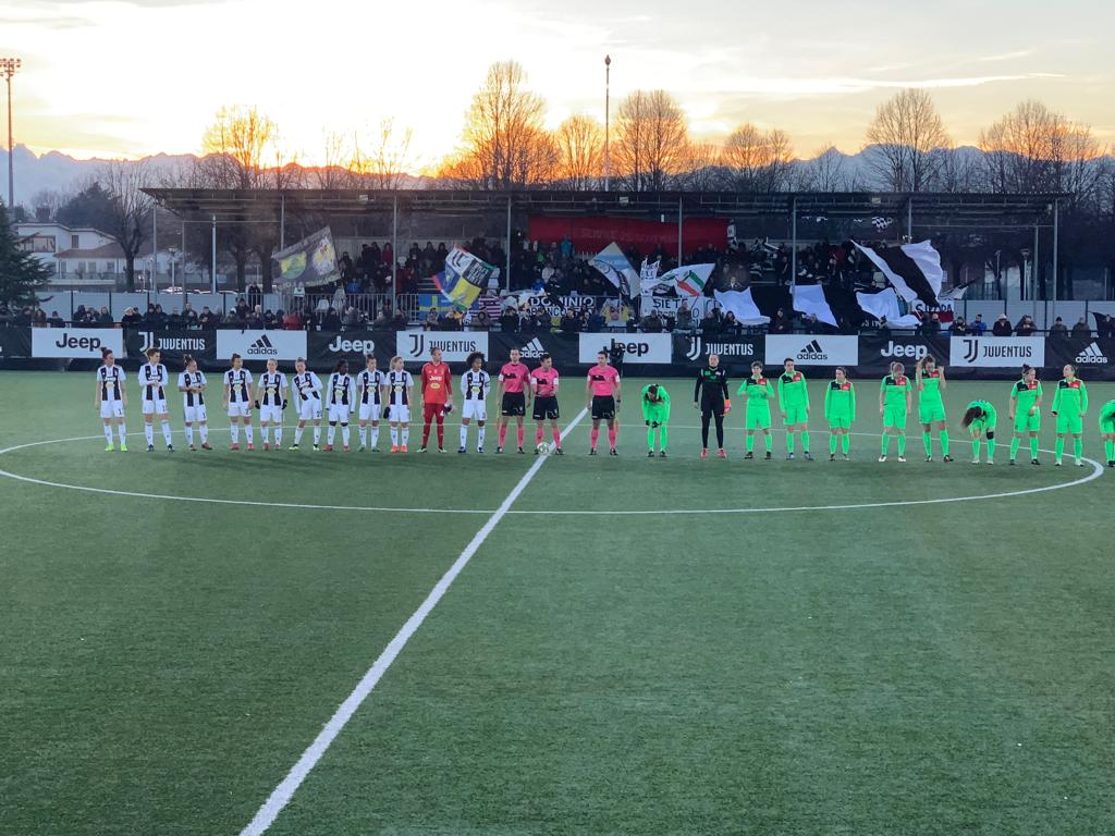1' KICK-OFF: LET'S GET THE FIRST HOME WIN OF THE YEAR! 🏳🏴  #JuveFlorentia [0-0]  #ForzaJuve  #JuventusWomen