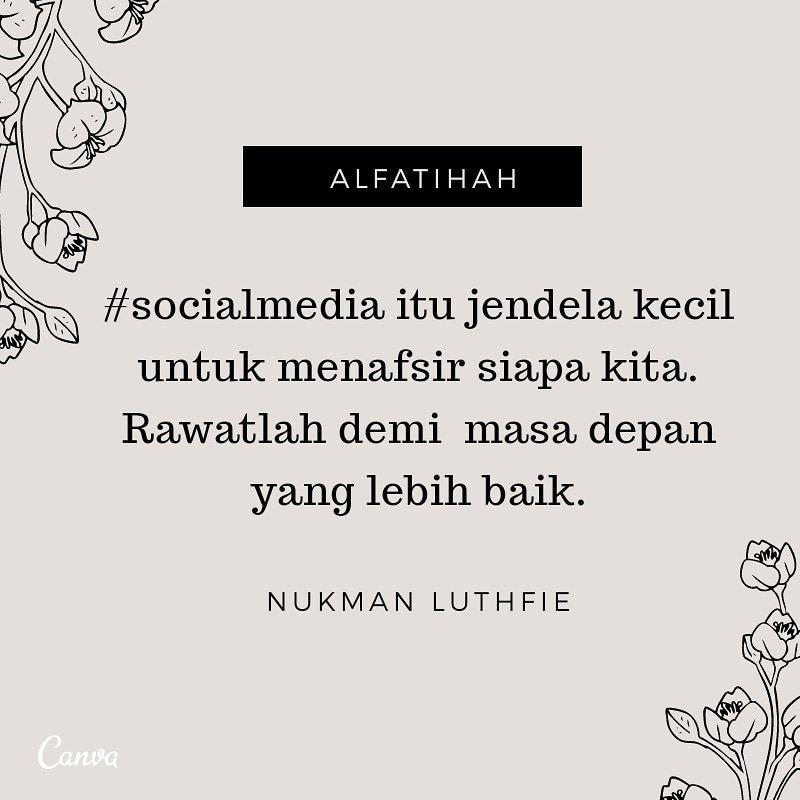 Quote Nukman Luthfie