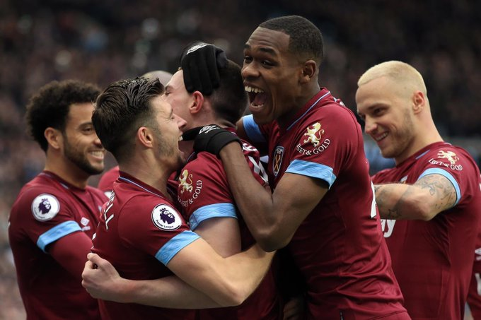 Congratulations to the players for their great performance. We were balanced in attacking and defending and we didn't allow Arsenal to create chances Thanks to the fans for their great support. #COYI #WestHam Photo