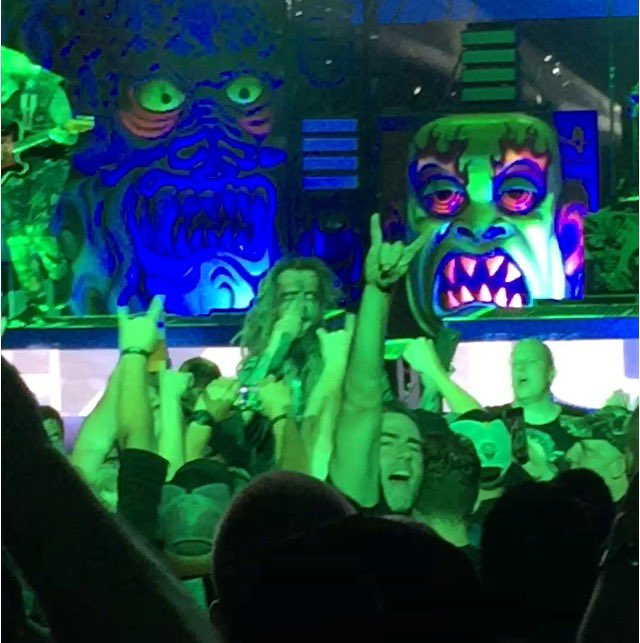 He still puts on a great show. Happy birthday Rob Zombie!