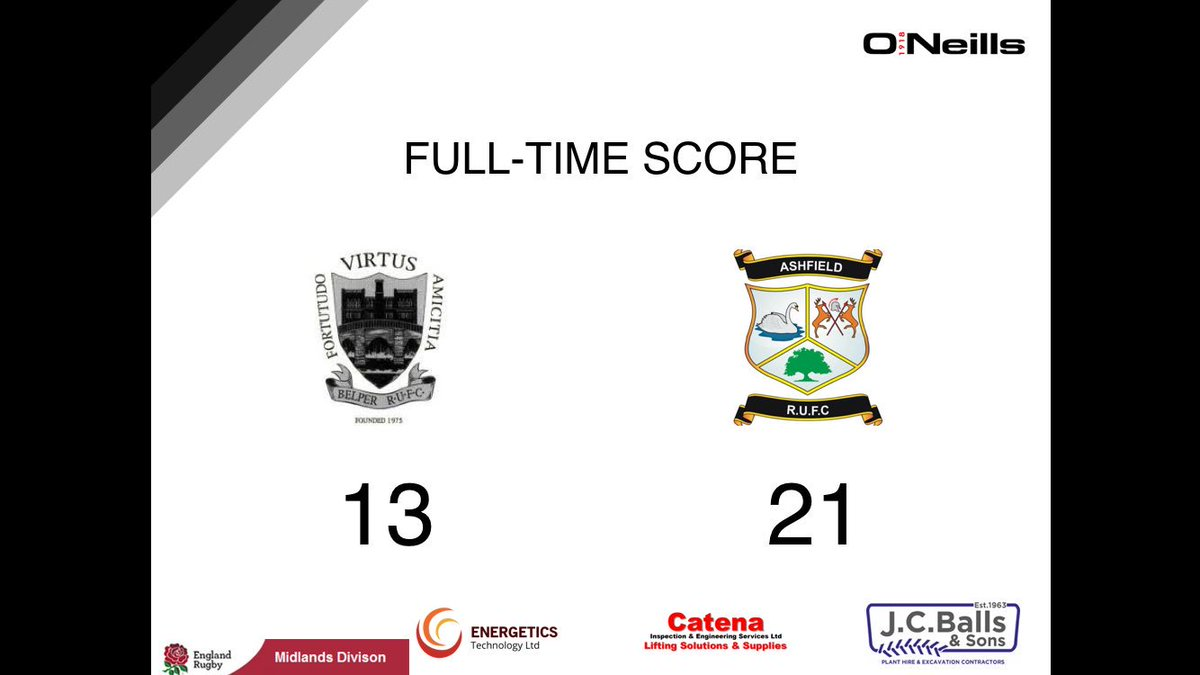 Belper Rugby Club's photo on Final Score