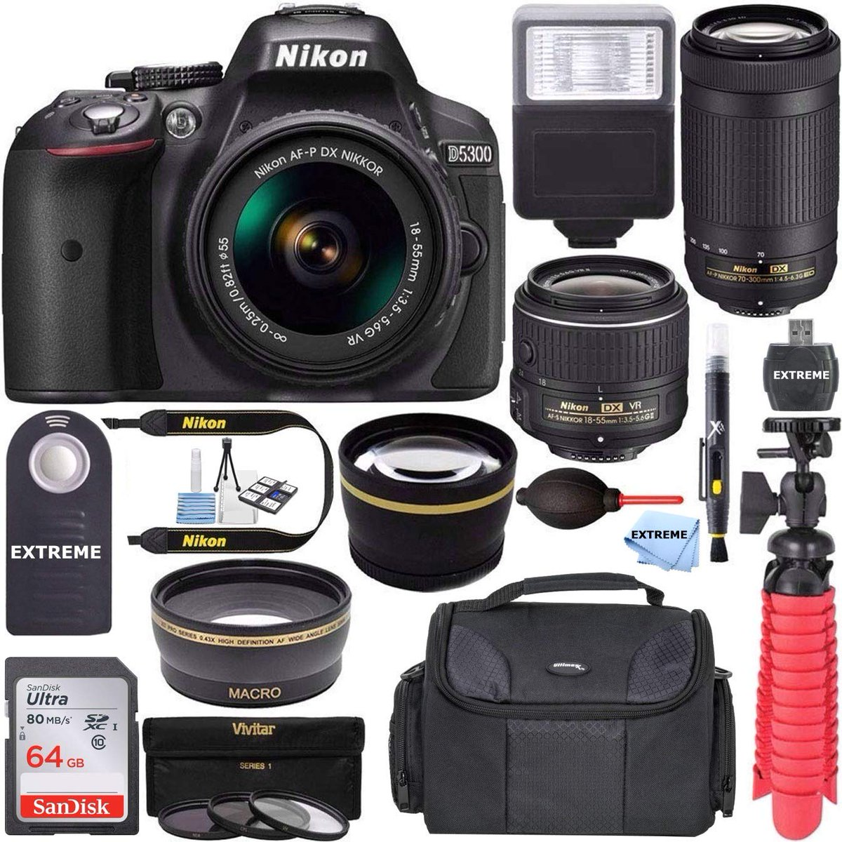 nikon d5300 kit bundle hashtag on Twitter