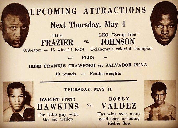 Happy Birthday to Heavyweight champ Joe Frazier-made his mark