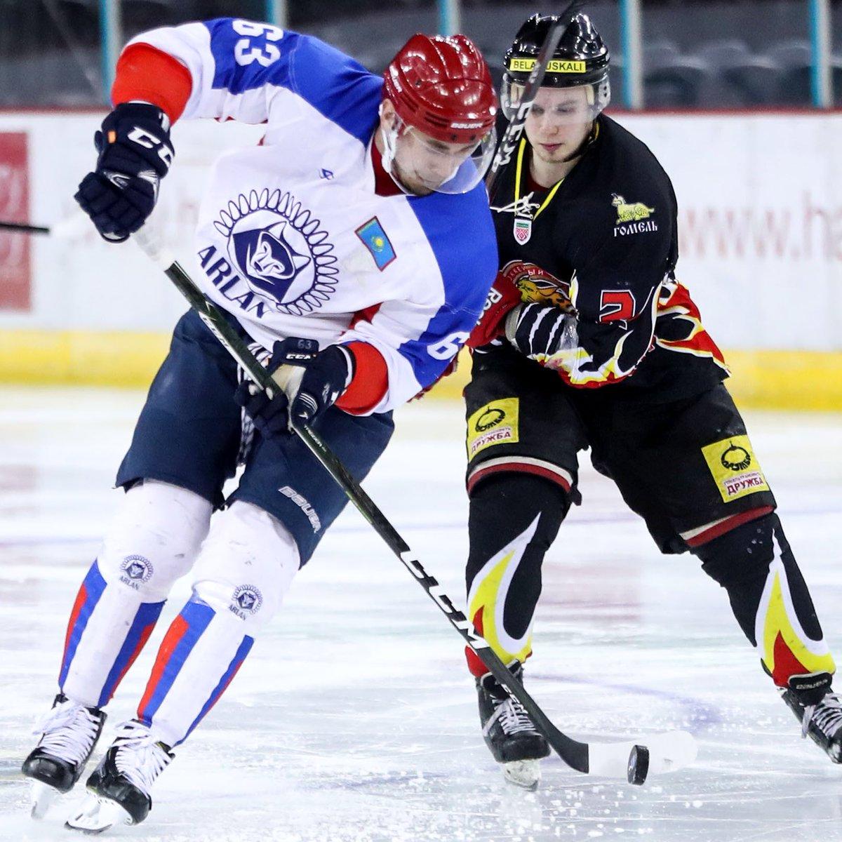 Хоккей: «Арлан» Беларусьтің «Гомель» командасын ойсырата жеңді