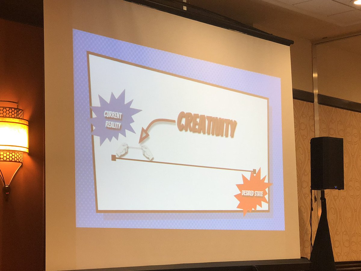 """""""Find your desired state and make moves toward it one stench at a time."""" @John_Eick #CLSTech19"""