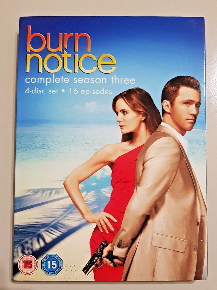 Burn notice Season 3 720p