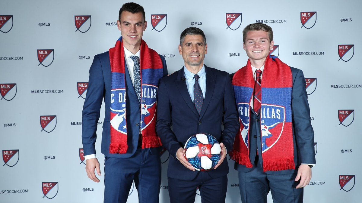 Extremely excited and grateful for the opportunity to join @FCDallas. A day I will never forget at the @MLS #SuperDraft <br>http://pic.twitter.com/DkV1RMzNLV
