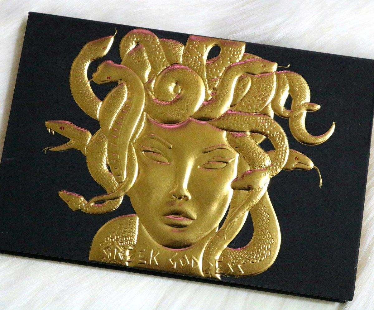 Medusa is THAT bitch 🔥💛🖤 #LunarBeauty