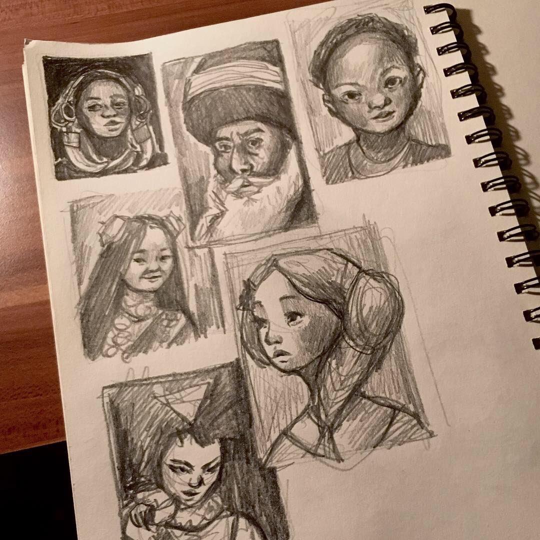 Mai's Sketchbook DwvFbdoXcAYJKhG