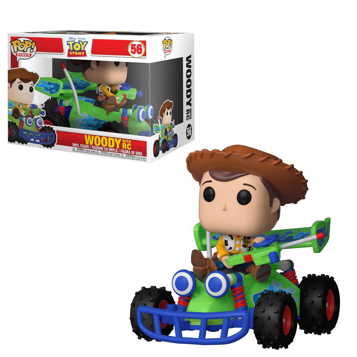 RT & follow @OriginalFunko for the chance to win a Woody with RC Pop! Ride!