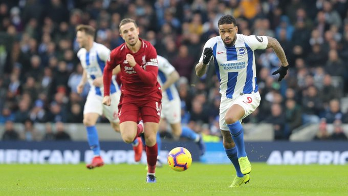 #BHALIV: We worked hard and defended very well, limiting Liverpool to only a few chances. • Salah not at his best, Firmino anonymous • Fabinho impressive at CB • Robertson very good going forward • Lewis Dunk MOTM • Stephens and Pröpper solid in midfield • Groß poor #FPL Photo