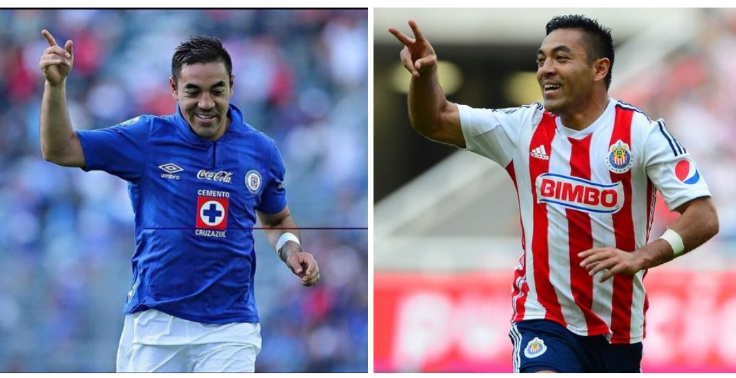 Marco Fabián's photo on El Cruz Azul