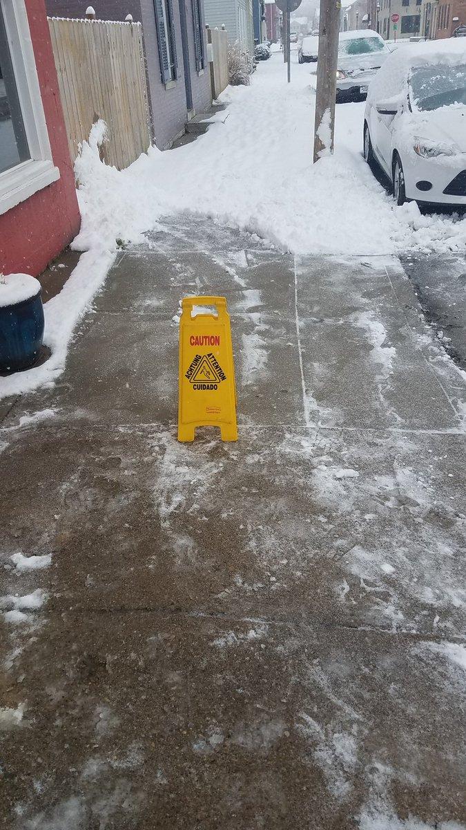 RT @OneLoveMoney21: Better safe than sorry #Snowmageddon2019 https://t.co/OzMdnuaAu7