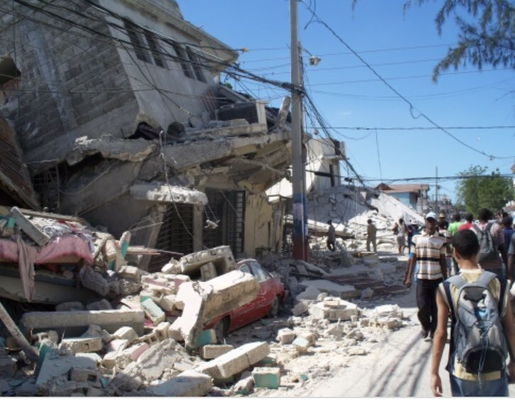 devastating earthquake ravaged haiti - HD 4000×3000