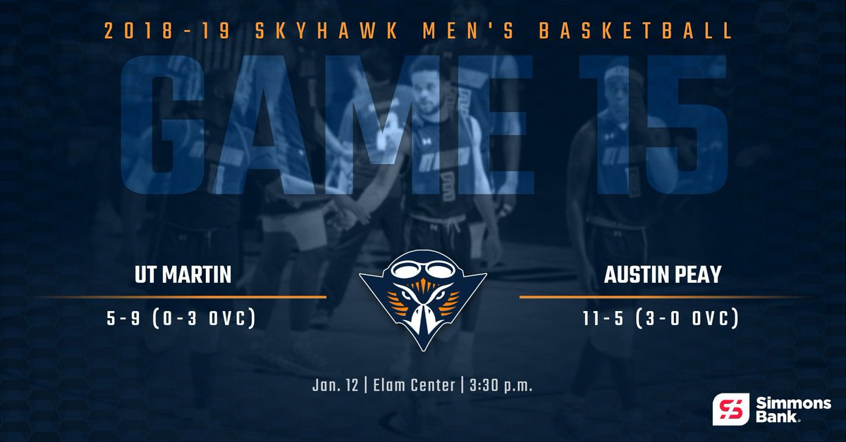 Ut Martin Athletics On Twitter Mbb We Are Approximately 15