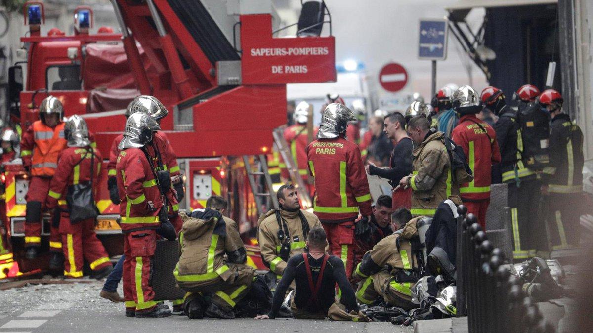 Explosion d'un immeuble à Paris : 'Les pompiers sont vraiment les héros des temps modernes'   https://t.co/4nwLSfCnwD