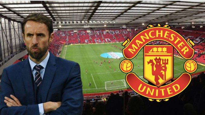 BREAKING: Manchester United considering approach to make Gareth Southgate their permanent manager. Photo