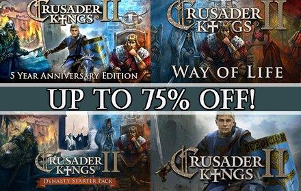 crusader kings 2 sale