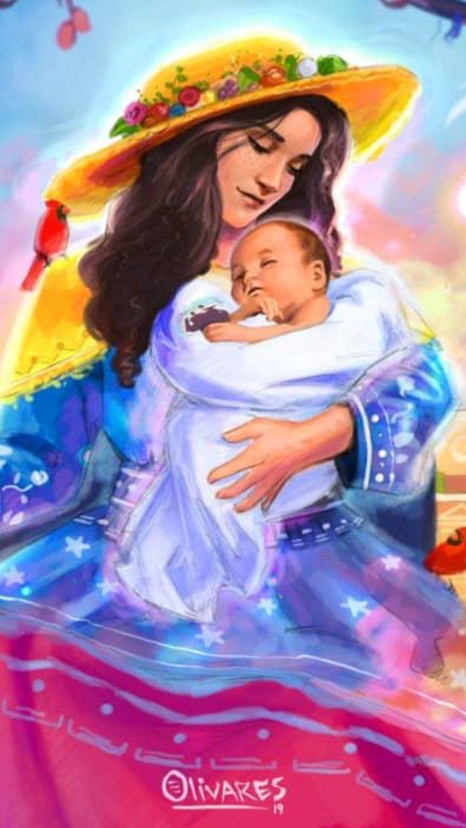 @malufaria999 @Verandagourmet @magalybiondi @solitalo @dulceguia111   Por si acaso lo han olvidado  Nuestra Santísima Madre está detrás de todo esto... Pendiente que cumplamos nuestra tarea y cuidándonos de cualquier bichito.