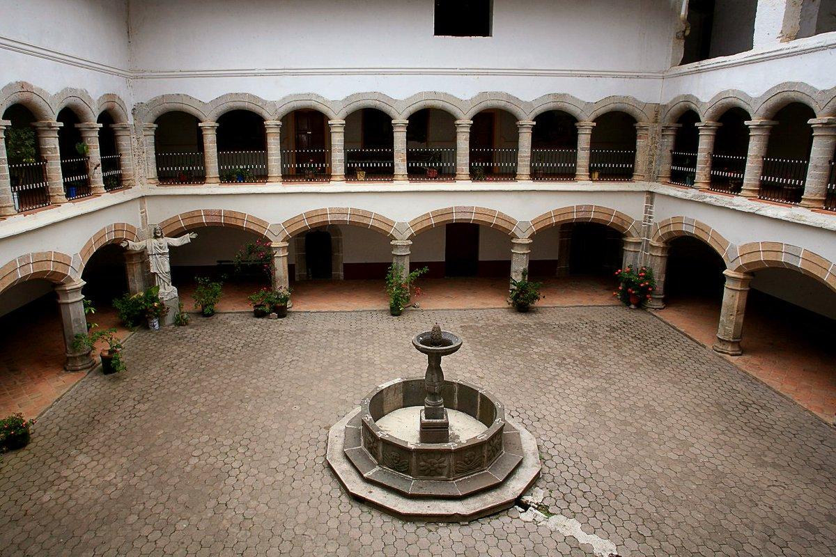 Interior del Ex Convento.