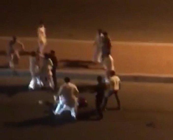 الإطاحة بالمتهمين في مضاربة حي #الحمدانية بـ #جدة Photo