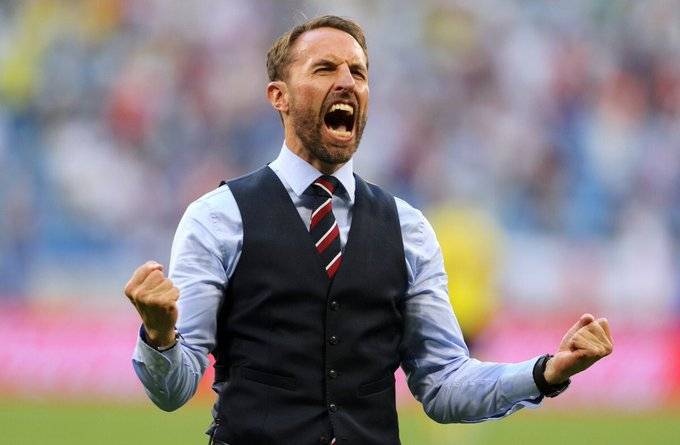 Manchester United are rumoured to be looking at England manager, Gareth Southgate for their next permanent manager. STEP AWAY FROM GARETH, HE'S GOT TO WIN THE WORLD CUP WITH ENGLAND! 🏴󠁧󠁢󠁥󠁮󠁧󠁿 Photo