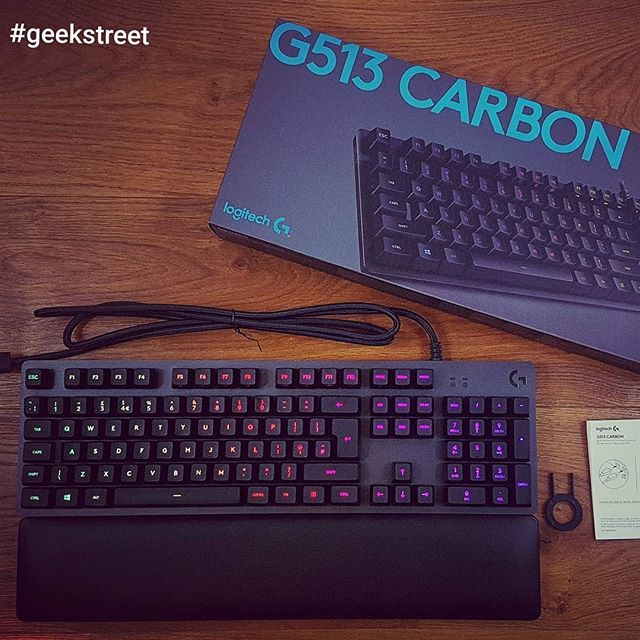 a1134546f00 See it in action on @youtube Unboxing and setup of a Logitech G513  Mechanical Gaming Keyboard #youtubegeekstreet #geekstreet #logitechgaming  #logitechG513 ...