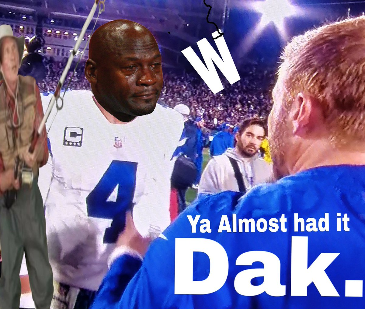 Poor Guy.. He just couldn&#39;t make it happen.. Dak is NOT their guy long term. With that being said... Hope they give him a 5 year deal.. #FlyEaglesFly  #DallasSucks #BetterLuckNextYear <br>http://pic.twitter.com/h9cEcb9W93
