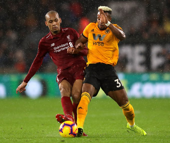 Klopp Lauds Fabinho's Impressive Performance Photo