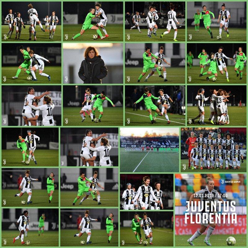 #JuventusWomen ⚽🏃♀️ #JuveFlorentia (0-3): Victoria para las chicas de 👩🏫 @ritaguari, que derrotaron al #Florentia. ⚽ Goles: 11' pt (gol en contra de Dongus), 40' st @cristianagire, 45' st  @ValeCernoia7 (de penal).  #WOMENF1RST