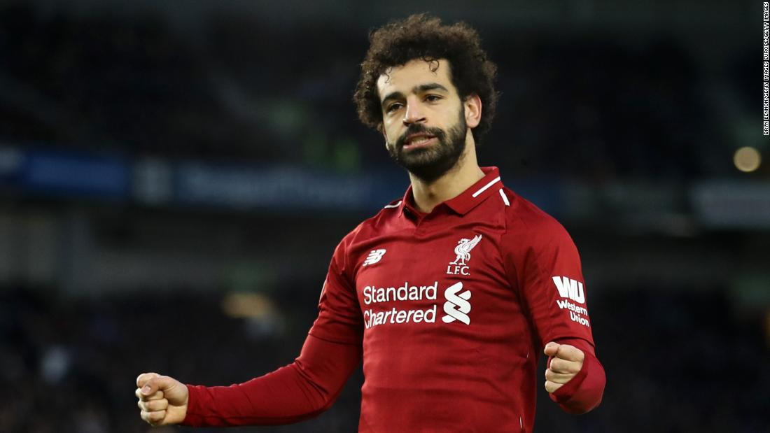 Egyptian football player Mo Salah soothes Liverpool nerves in Premier League title race https://t.co/he1JV9f1lg https://t.co/iXyi12EuTp